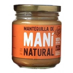 Mani Natural - Mantequilla de Mani 230 gr
