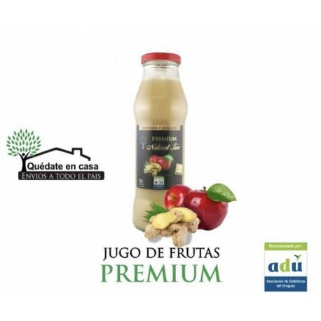 Jugo Puro de Jengibre y Manzana sin Azúcar - 910 ml