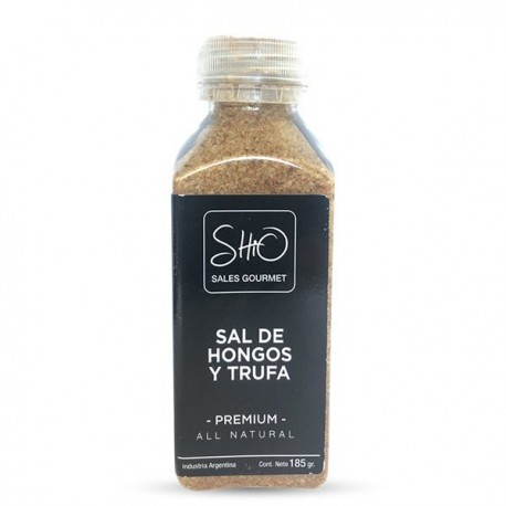 Sal Gourmet Hongos y trufas - 185 gr